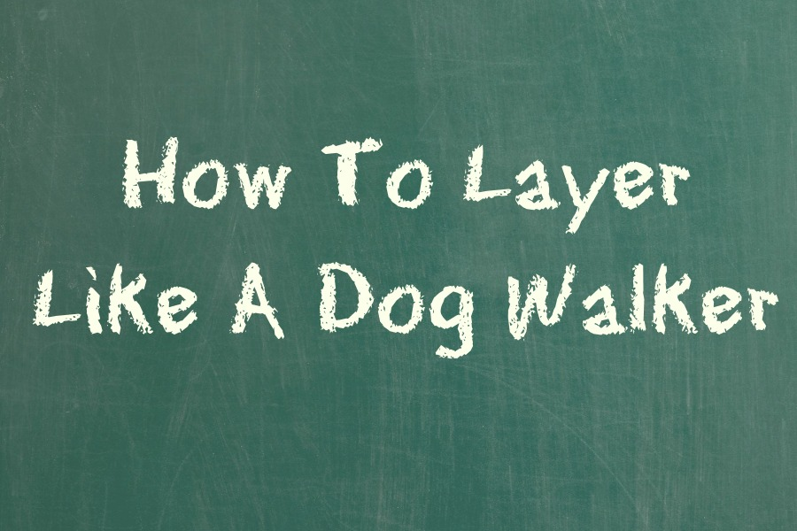 How To Layer Like A Dog Walker