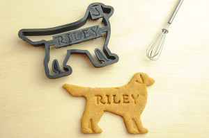 That treat's got your dog's name on it - literally! Choose from several different breed shapes.